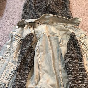 Cute distressed jean jacket